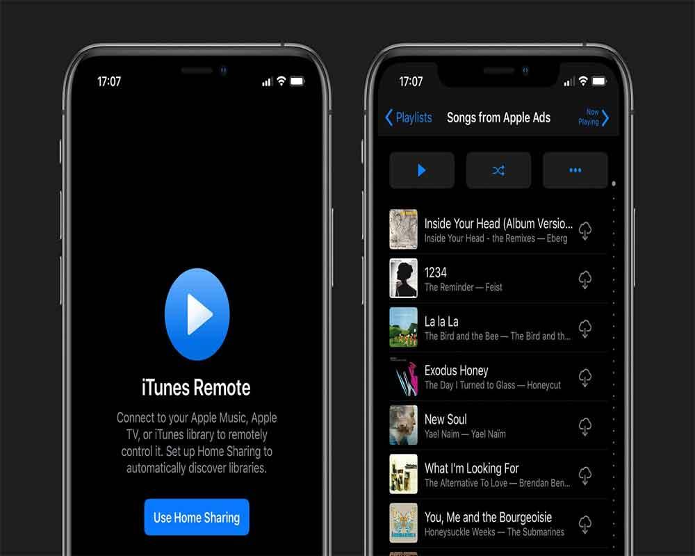 iTunes Remote получит темную тему и поддержку MacOS Catalina
